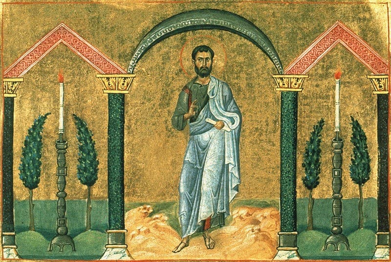 Icône: Le diacre Timon (wikimedia - CC)
