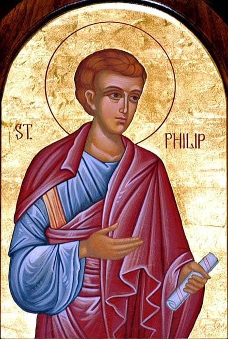 Icône: Le diacre Philippe (wikimedia - CC)
