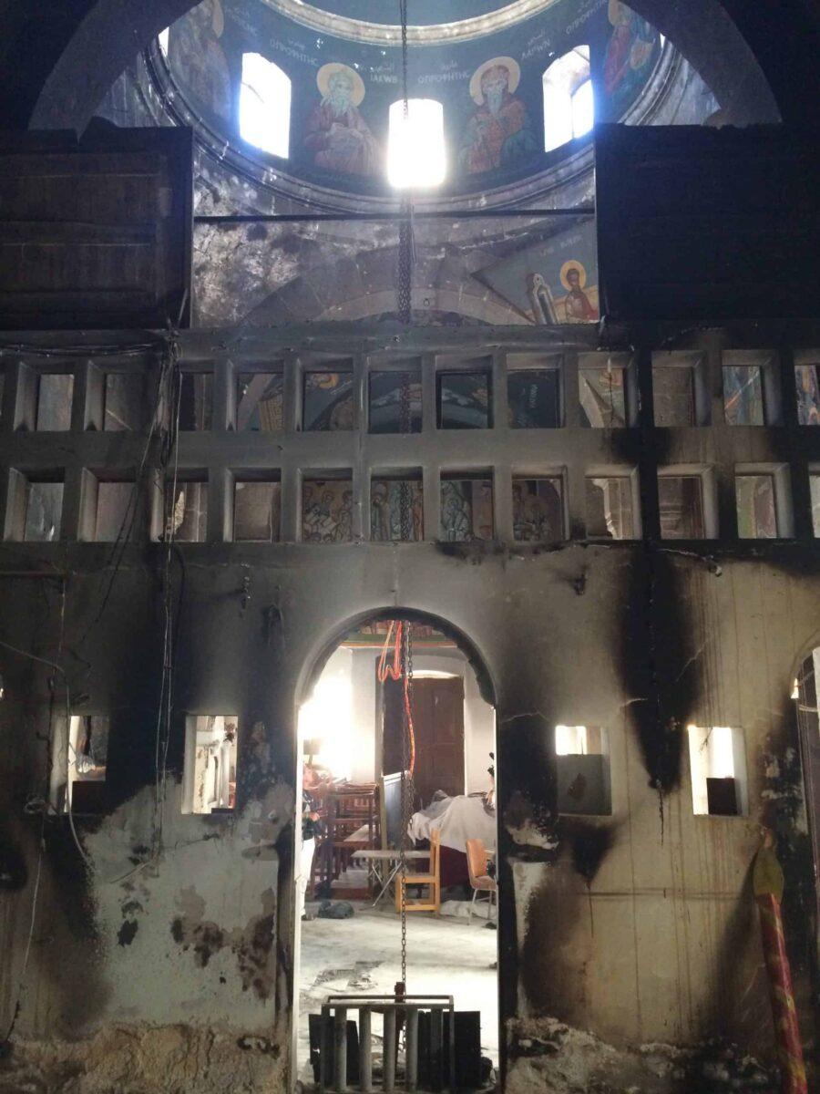 Photo: Église du monastère Sainte-Thècle-de-Maaloua
