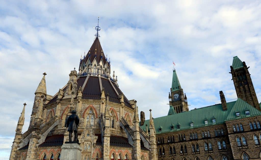 Bibliothèque du Parlement, Ottawa (Fotolia)