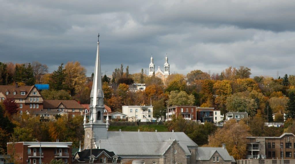 Photo: Églises à Beauport, Québec (Fotolia)