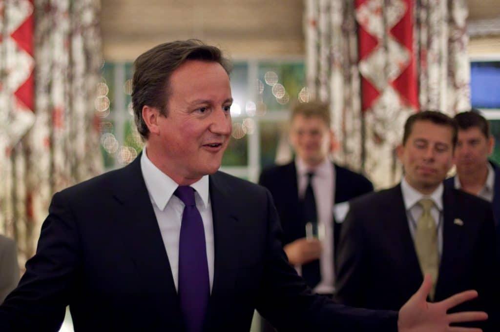 David Cameron, premier ministre britannique (Wikimédia - CC)