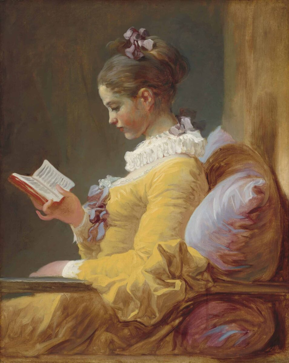 La liseuse, par Jean-Honoré Fragonard — National Gallery of Art (CC)