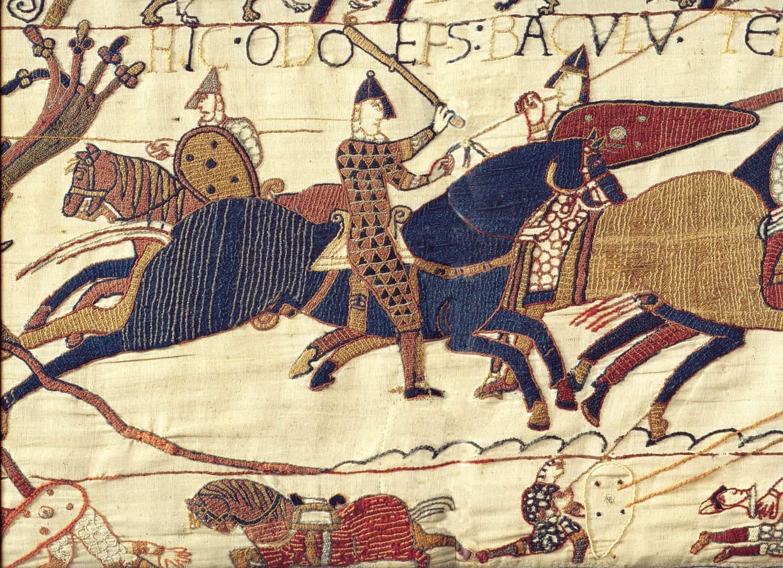 Tapisserie de Bayeux (wikimedia - CC)