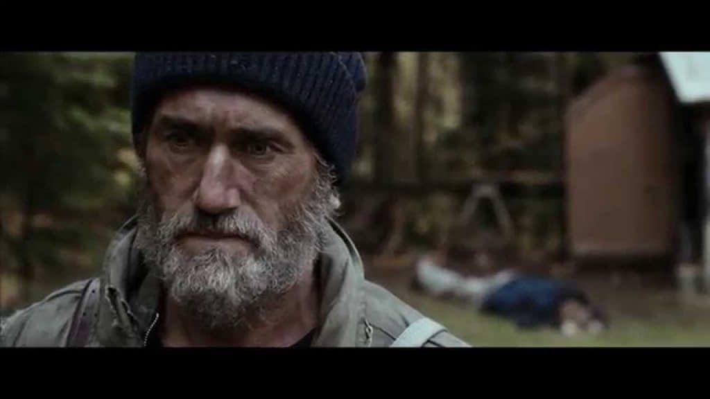 Roy Dupuis, dans le film Les feuilles mortes (image tirée de YouTube)