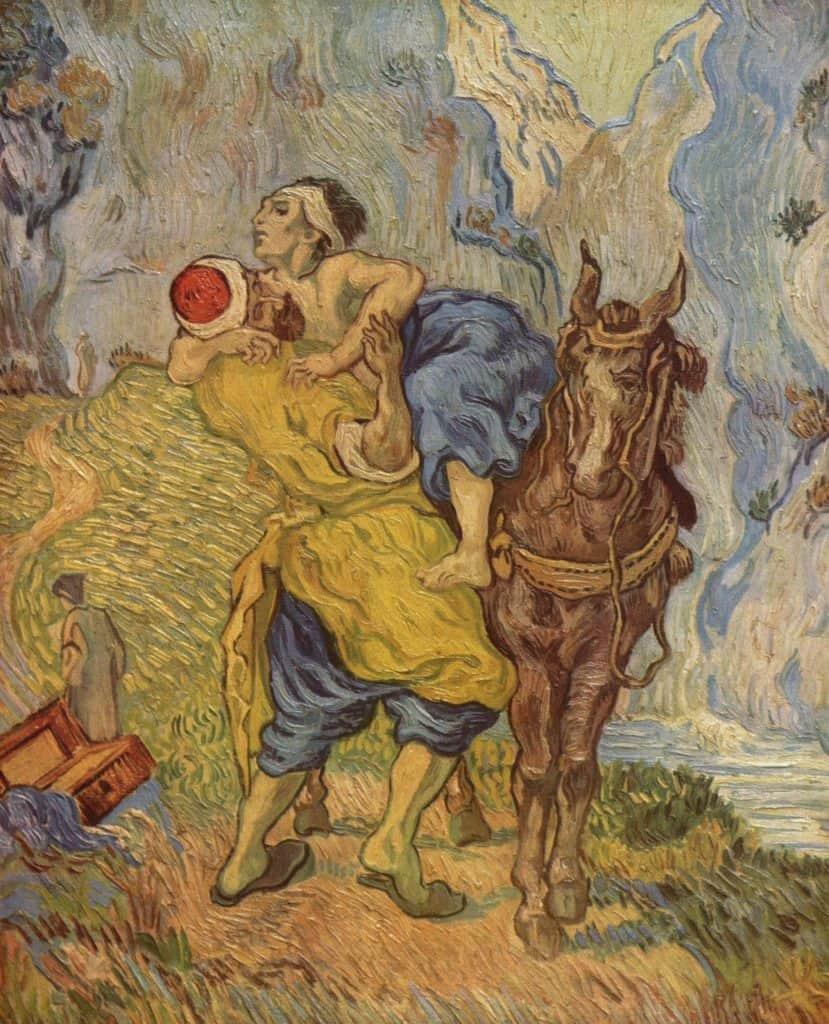 Le Bon Samaritain, Van Gogh, 1890 (CC-wikimedia)