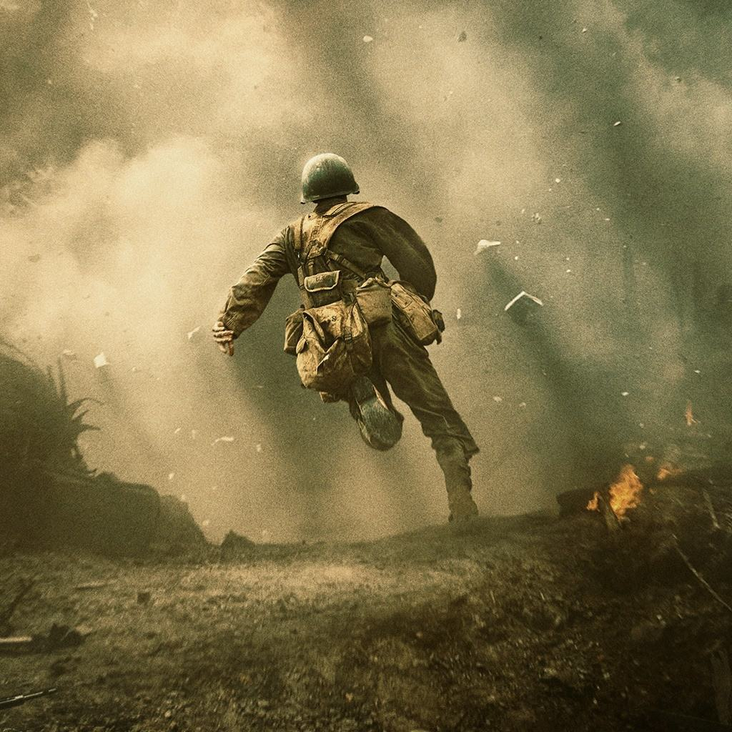 Extrait du film Hacksaw Ridge (photo tirée de Facebook)