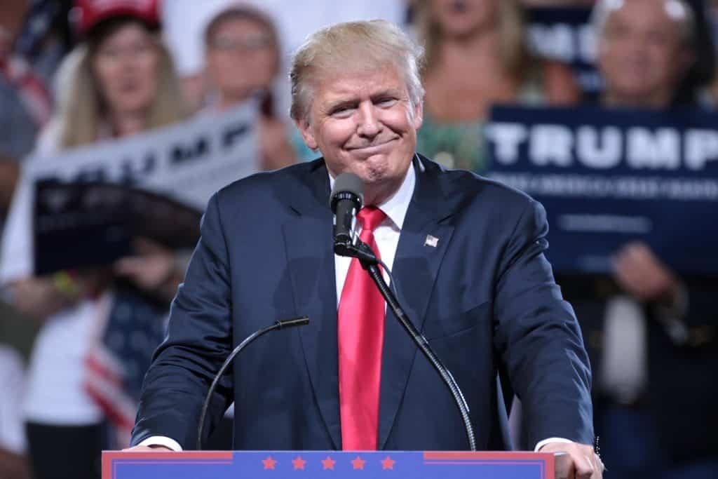 Donald Trump (photo par Gage Skidmore, Wikimedia - CC)