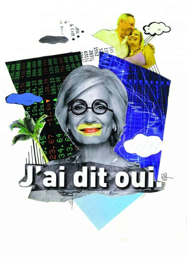 Illustration: Caroline Dostie / Le Verbe