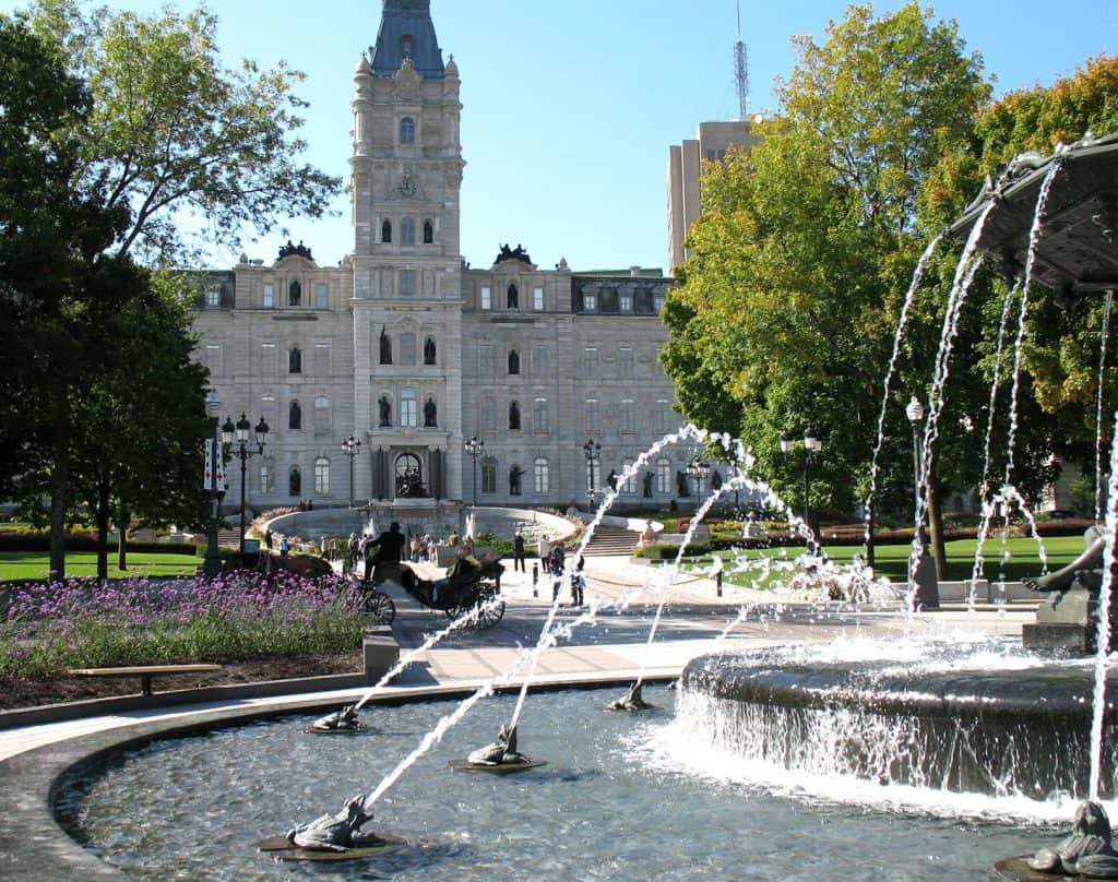 Photo: Parlement de Québec (Wikimedia - CC).