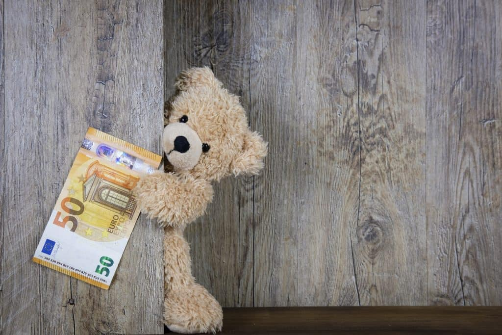 money bear