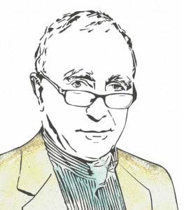Jean-Claude Guillebaud (illustration: Judith Renauld / Le Verbe)