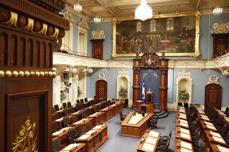 Photo: Assemblée nationale du Québec (Wikimedia - CC).