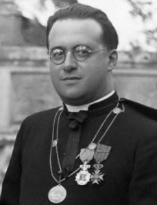 Le chanoine Georges Lemaître, physicien. (Wikimedia - CC.)