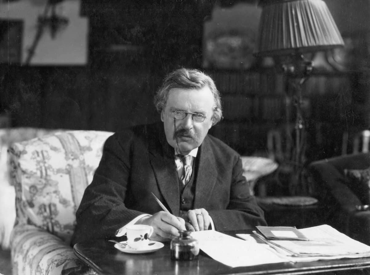 G.K. Chesterton (Wikimedia Commons).