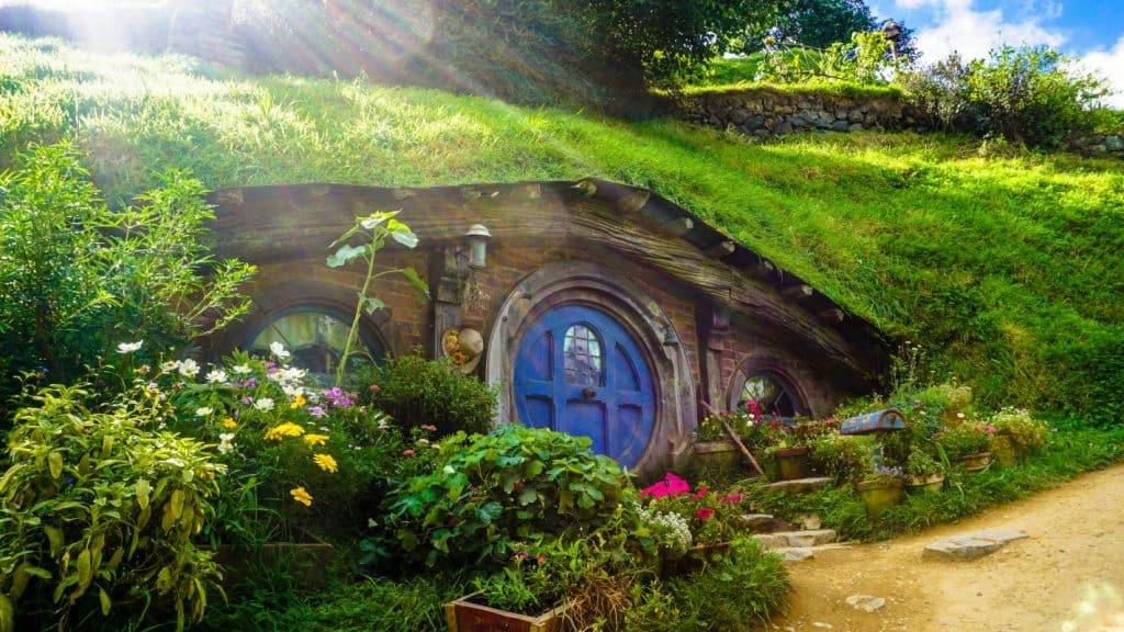 Paysage de Nouvelle-Zélande où Le Seigneur des anneaux a été tourné (photo: Andres Iga / unsplash.com).