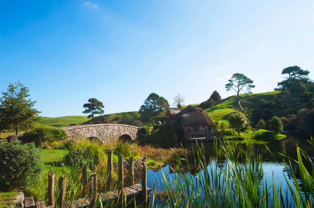 Paysage de Nouvelle-Zélande où Le Seigneur des anneaux a été tourné (photo: Constantino Co / unsplash.com).