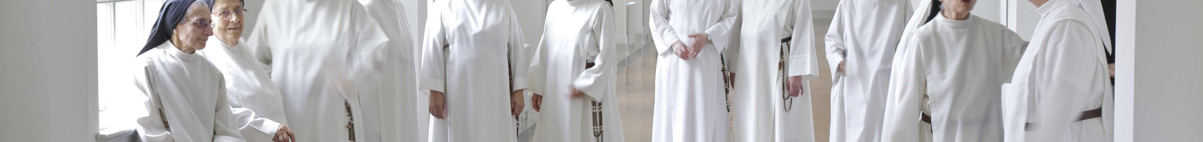 Les Soeurs Dominicaines dans leur monastère de Berthierville