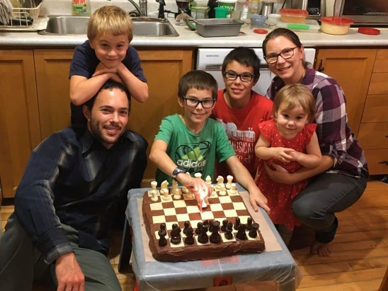 Andréane et sa famille - tsunami