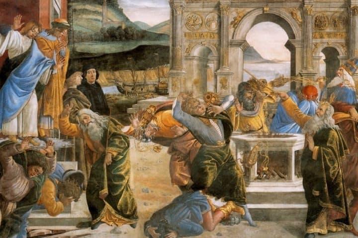 punition Botticcelli