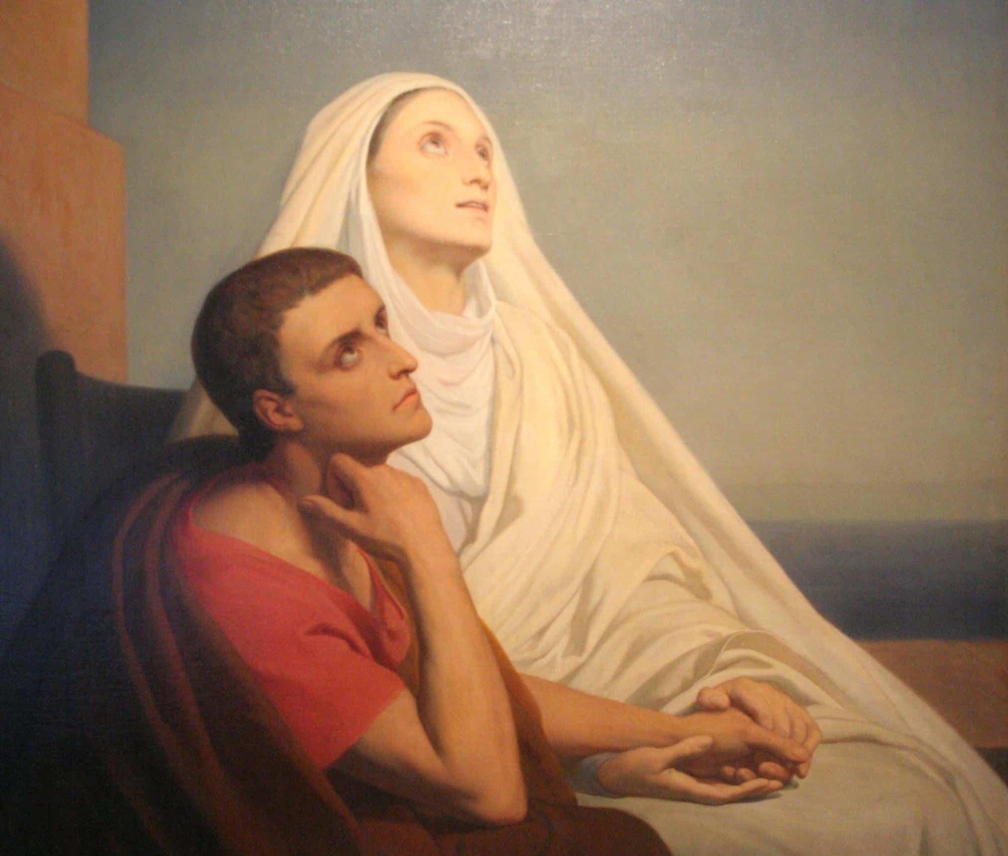sainte Monique saint Augustin