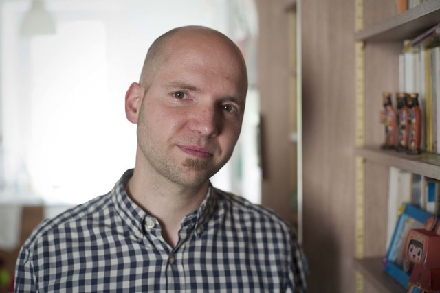 Martin Steffens faire face communauté masque