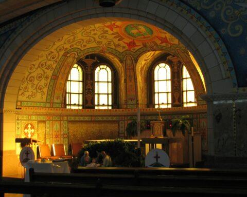 Marius Dubois Chapelle Saint-Sacrement